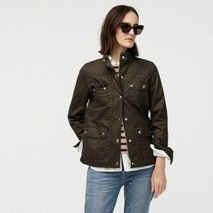 J Crew The petite downtown field jacket